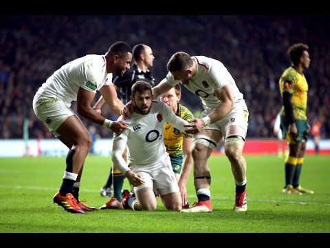 Highlights: England 37 Australia 18