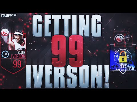 GETTING 99 ALLEN IVERSON! HOW TO BEAT THE GAUNTLET & GET AI EASILY! NBA Live Mobile Tricks & Tips