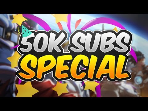 WHEN OVERWATCH CLIPS MAKE HISTORY! 50K SUBSCRIBER SPECIAL!- OVERWATCH WTF FUNNY MOMENTS MONTAGE!