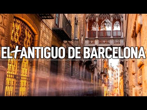 Mochila de Viaje en el Barrio Gótico de Barcelona