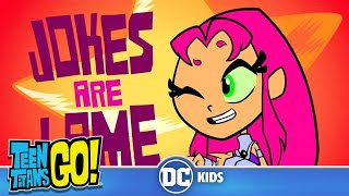 Teen Titans Go! KARAOKE | Uncle Jokes | DC Kids