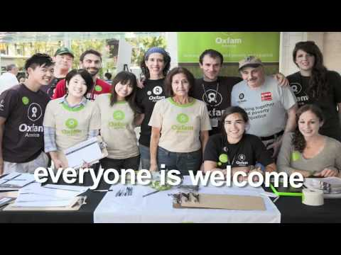 Volunteer With The Oxfam Action Corps