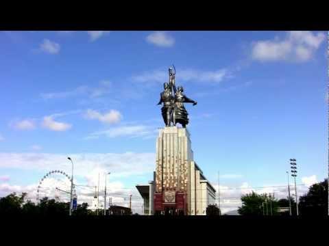 картинки памятник и рабочий колхозница