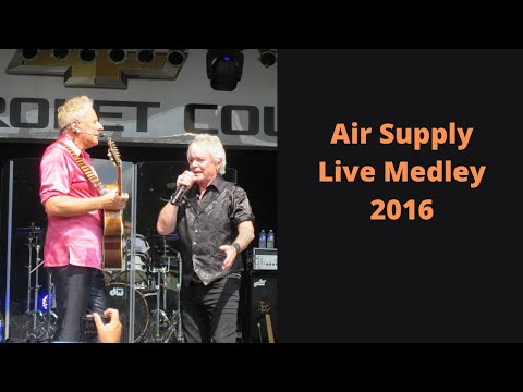Air Supply Medley  2016 NY State Fair