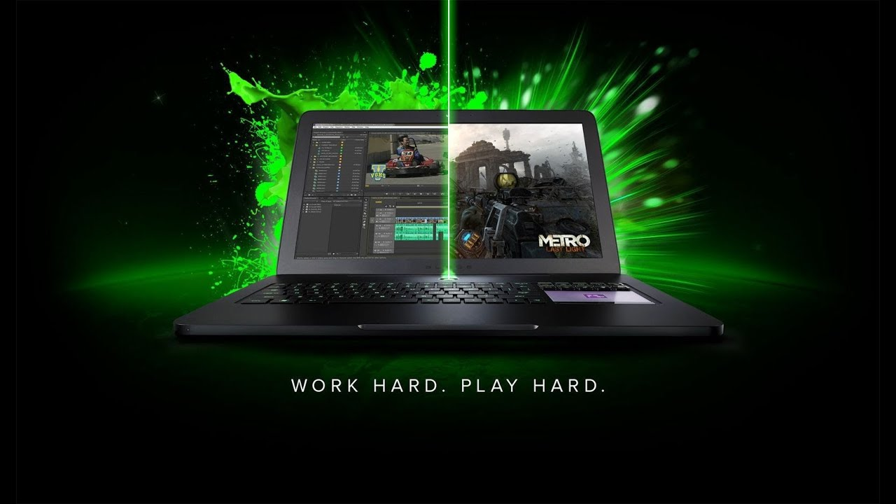 The Razer Blade Pro Work Hard Play Hard Youtube