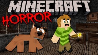 STAIRS: Scary Minecraft Horror Adventure with Scooby Doo & Shaggy!