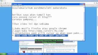 video cara mengganti cursor Mp3