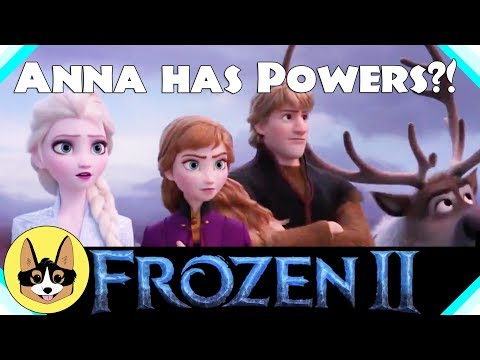Does Anna Have Powers in Frozen 2?!  |  Disney's Frozen II Trailer Analysis