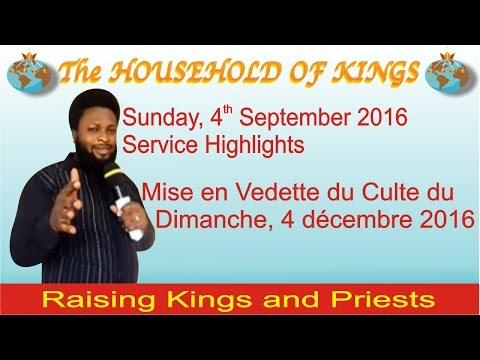 The Household of Kings Service on Sunday 4 September 2016