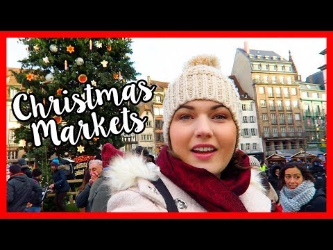 French Christmas Markets in Strasbourg   VLOGMAS