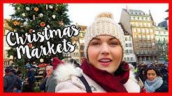 French Christmas Markets in Strasbourg | VLOGMAS
