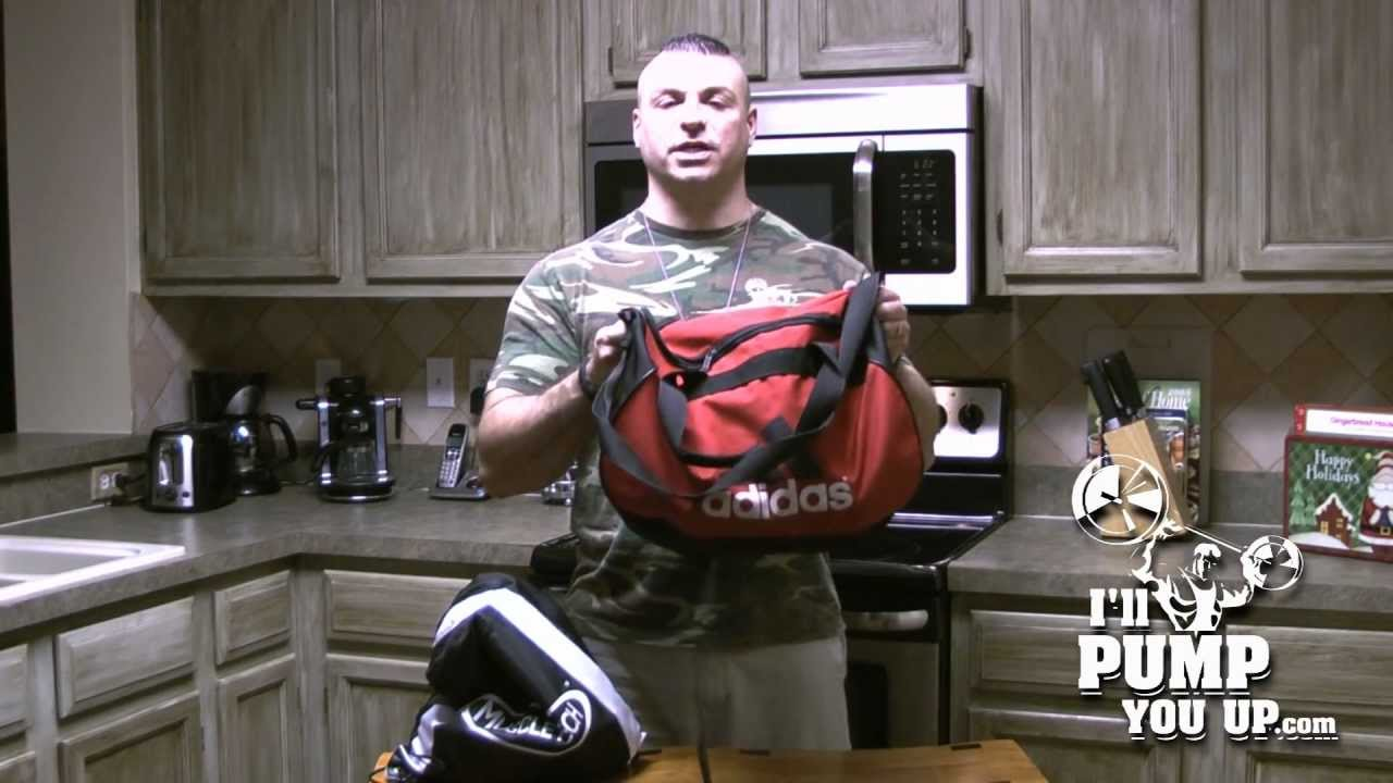 Npc Natural Bodybuilder Tim Muriello Gym Bag