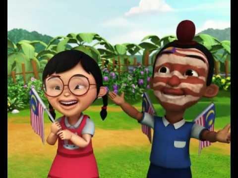 Upin & Ipin - Selamat Hari Malaysia