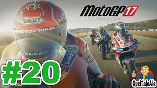 MotoGP 17 - Gameplay ITA - Carriera #20 - In bilico fino alla fine