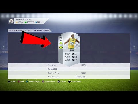 USAIN BOLT IS COMING TO FIFA!😱 (SECRET FIFA 18 CARD)