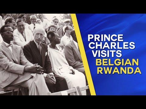 Regent of Belgium, Prince Charles visits Belgian Ruanda-Urundi (1947)