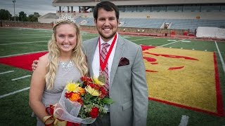 2014 PSU Homecoming King & Queen