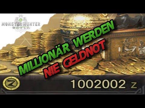 Monster Hunter World – Schnell Geld verdienen / Werde zum Millionär -MH