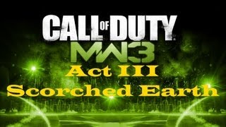 """Call of Duty 8: Modern Warfare 3"", HD walkthrough (Veteran), Act III: Mission 2 - Scorched Earth"