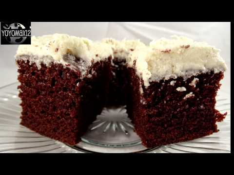 Crazy Chocolate Cake (Vegan, Egg Free, Dairy Free, Bowl Free)-with Yoyomax12