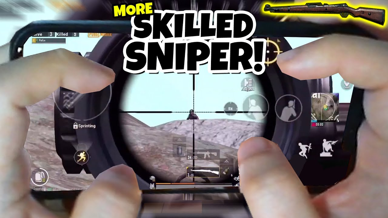 REAL PRO'S UNIQUE SNIPING SKILL!!! SHARING MY SECRET SNIPER'S TIP!!!