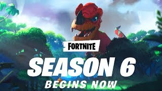 Fortnite playground SEASON 6 is here so HYPED red riding Hood skin pets Floating loot lake & Much