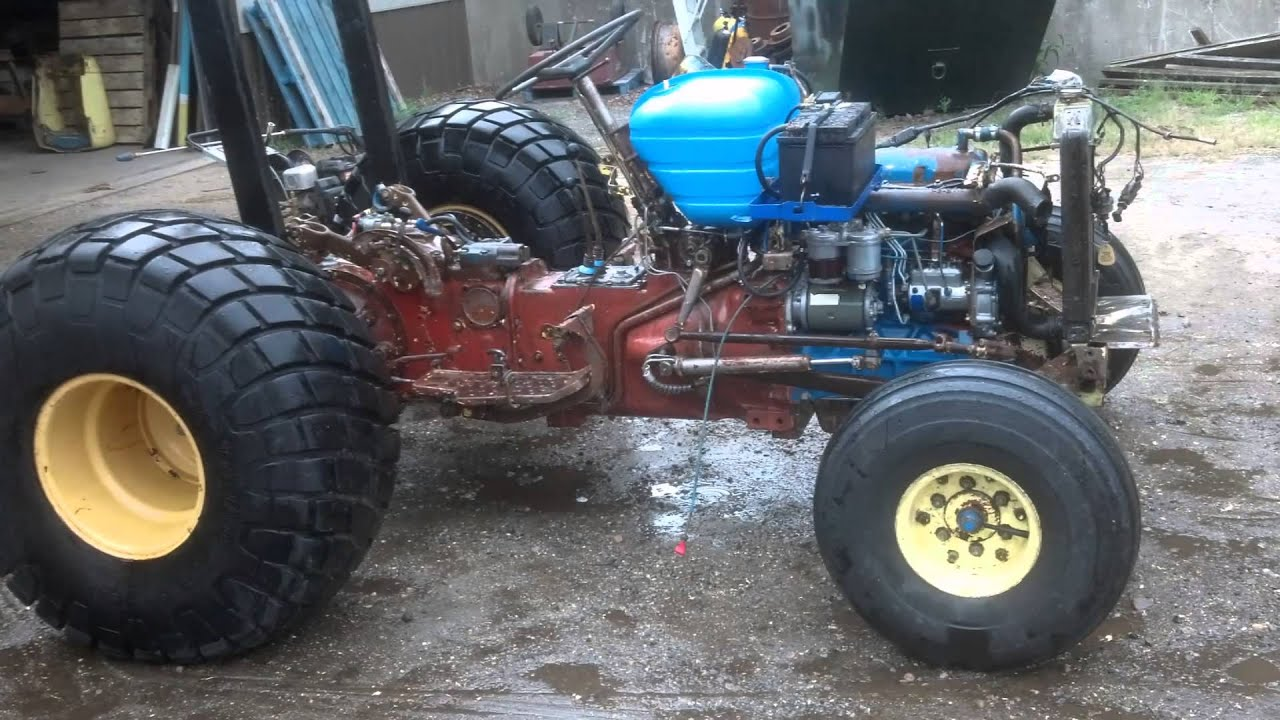Ford 2110 Tractor : The rebirth of tiny tractor ford lcg youtube
