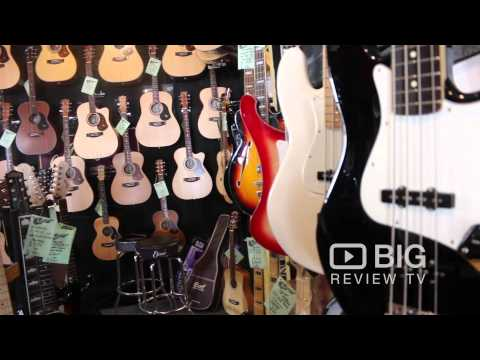 The Guitar Shop in Brisbane offering Guitar, Ukulele, Bass, and Amp