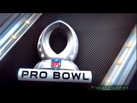 NFL Pro Bowl 2013 - AFC Conference vs NFC Conference - 2nd Qrt - Madden NFL - HD