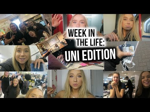 WEEK IN THE LIFE OF UNI STUDENT TAKE 2!!!!