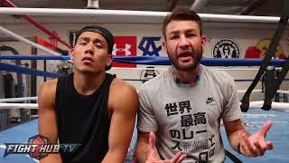 Chris Van Heerden & Trainer Julian react to Conor McGregor vs Paulie Malignaggi Sparring beef