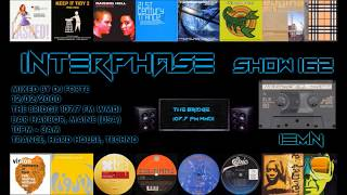 INTERPHASE - Show #162 (12/02/2000) - The Bridge 107.7 FM - Trance, Hard House, Techno