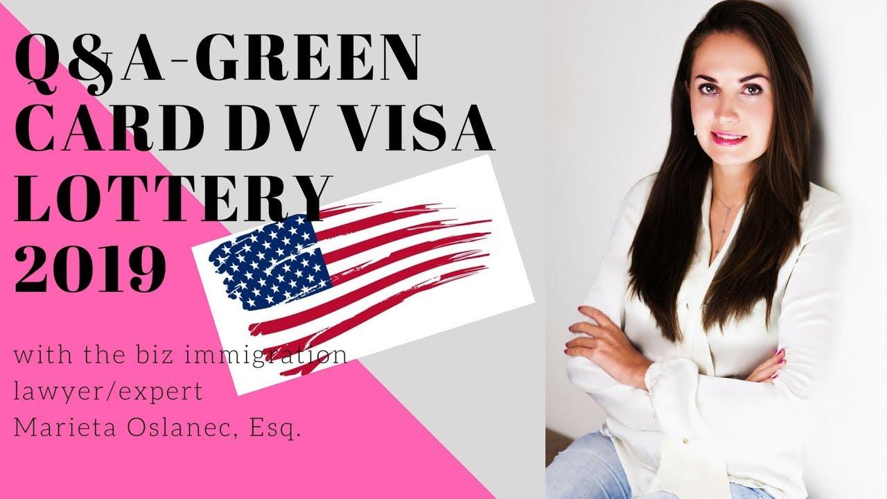 green card dv lottery