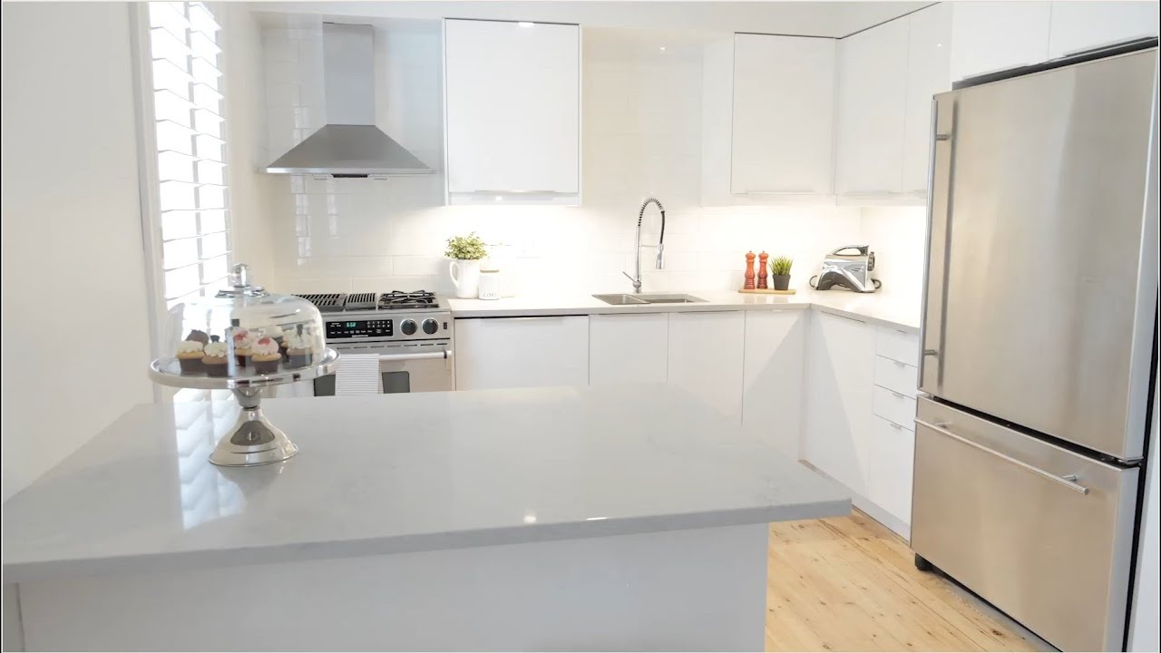 Ikea Kitchen White High Gloss Installed In Mississauga On Youtube
