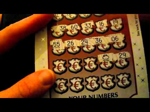 Irish National Lottery All Cash Spetacular Scratchcard madness #66