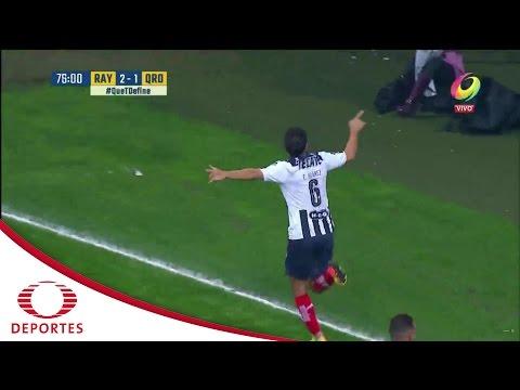 Gol de Efraín Juarez   Monterrey 3-1   Televisa Deportes