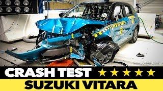 Suzuki Vitara 2015 CRASH TEST Euro NCAP 2015 ★★★★★