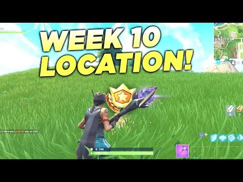 "Fortnite ""Search Between Movie Titles"" Location Week 10 Battle Star Challenge!"