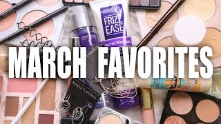 MARCH FAVORITES | Luxury & Drugstore, #MonthlyFavorites