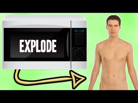 WHAT WOULD HAPPEN IF YOU PUT A HUMAN IN A MICROWAVE