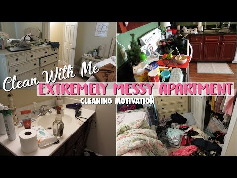 EXTREME CLEANING MOTIVATION 2017 | SAHM Power Hour Clean With Me- Speed Cleaning