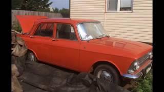 гаражная находка: «Москвич 412» 1980г. с пробегом 4.000км!