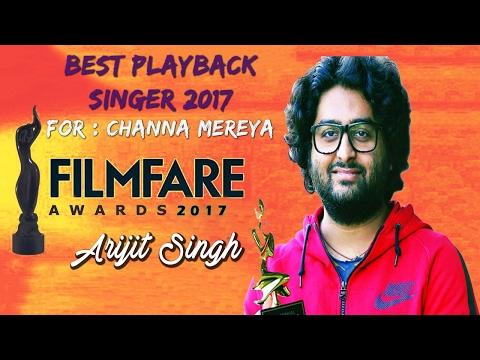 Arijit Singh Win Filmfare Award for Best Playback Singer 2017