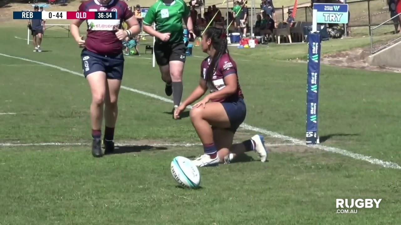 Super W Round One - Rebels vs Queensland