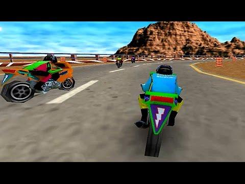 Juego De Motos 3d Carrera 3d De Motos Videos Infantiles Youtube