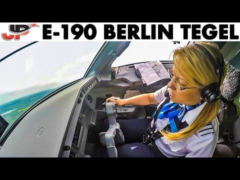 Evelina Landing E-190 at Berlin TXL