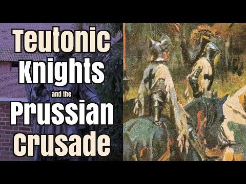 How did the Teutonic Knights conquer Prussia?
