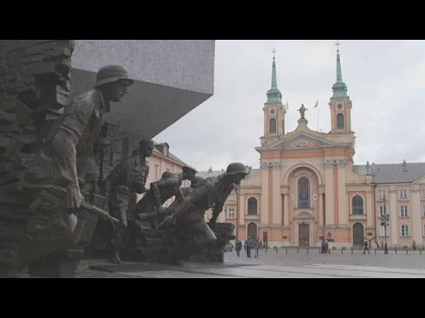 Warsaw a city with a booming culture and economy and a message - metropolitans