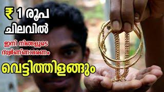 ₹1 രൂപ മതി സ്വർണാഭരണങ്ങൾ തിളക്കമാർന്നതാക്കാൻ | Ornaments Cleaning | Shining Gold