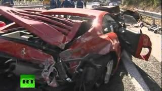 El accidente más caro del mundo: autos de lujo chocan en una carretera de Japón